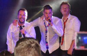Gelungener Tourstart! Lee Baxter, Eloy de Jong und Bastiaan Ragas