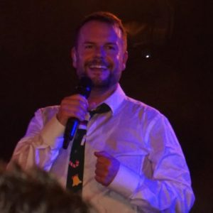 ... ist Lee Baxter ein Vollprofi und begeistert die Fans mit seiner liebenswerten Art! (Foto: Martina Zöchling)